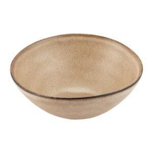 Olympia Build A Bowl diepe kom aardebruin 22,5x9cm (4 stuks)