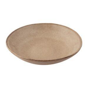 Olympia Build A Bowl platte kom aardebruin 19×4,5cm (6 stuks)
