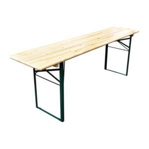 Opklapbare biertafel 220 (L) x 50 (W) cm