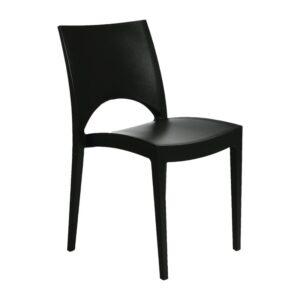 Sol outdoor/indoor stapelbare stoel anthraciet