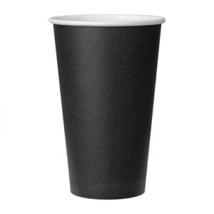 Fiesta koffiebeker enkelwandig zwart 455ml (1000 stuks)