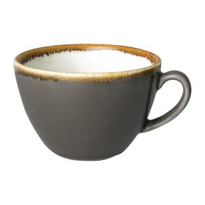 Olympia Kiln cappuccinokopjes grijs 34cl