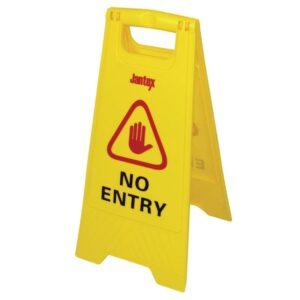 "Jantex waarschuwingsbord ""No entry"""