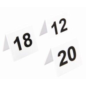 Olympia plastic tafelnummers 11-20