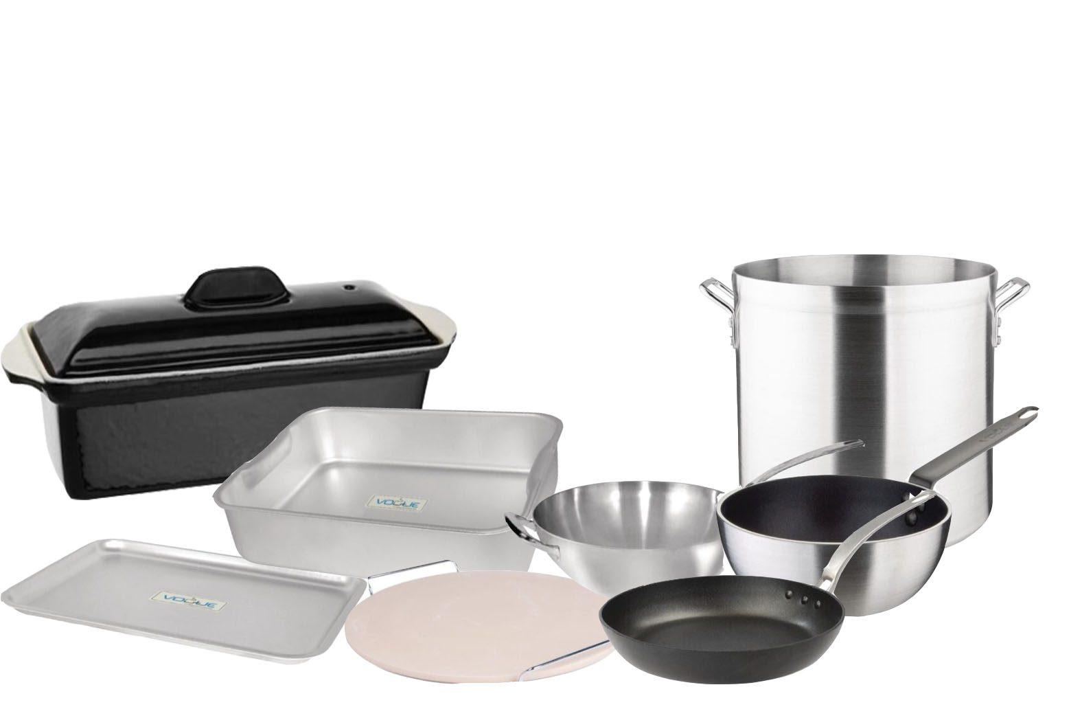 Pannen/bakplaten/ovenschotels