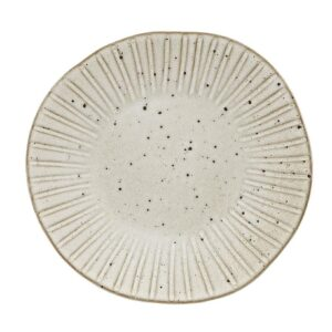 Q Authentic Stone White bord 28,5 cm