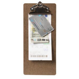 Menu clipboard 26,5 x 11,4 cm