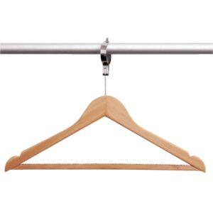 Bolero houten anti-diefstal garderobehanger