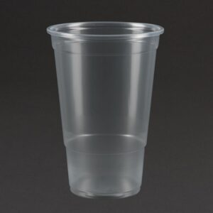 Kunststofo disposable bierbeker 590ml tot rand (1000 stuks)