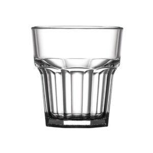 BBP American polycarbonaat whiskyglazen 25,5cl